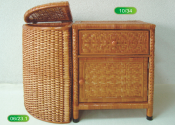 Thick corner basket